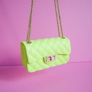 Forever 21 Neon Yellow Mini Bag